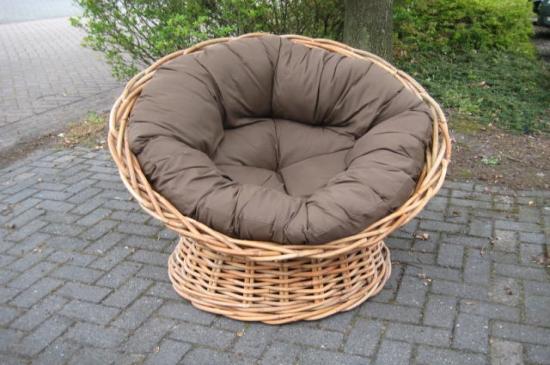 Grove rotan fauteuil Papasan